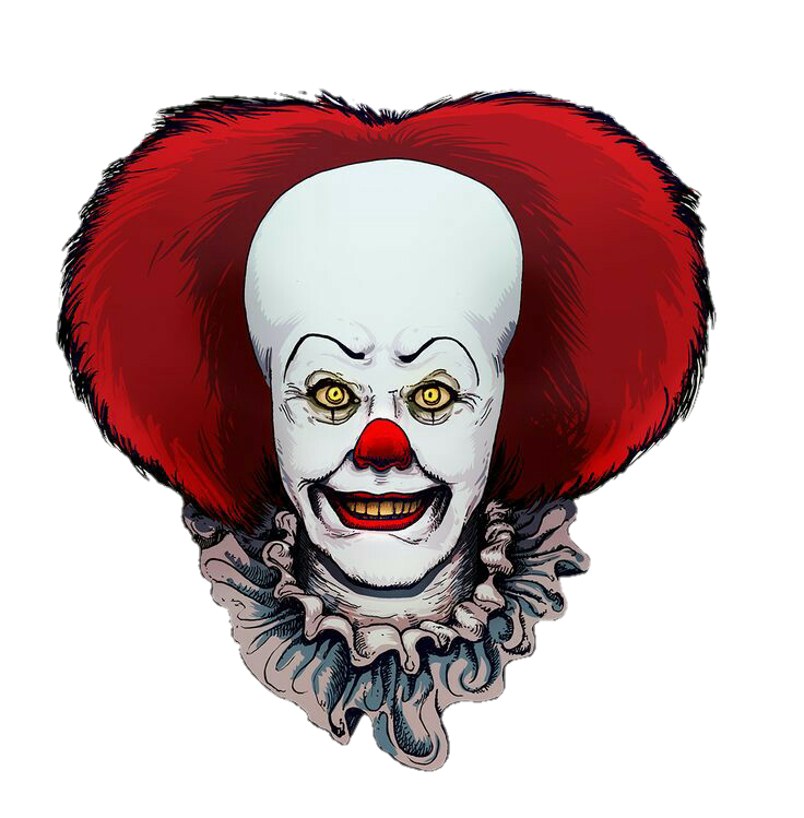 Ftescaryclowns it. Clown clipart pennywise