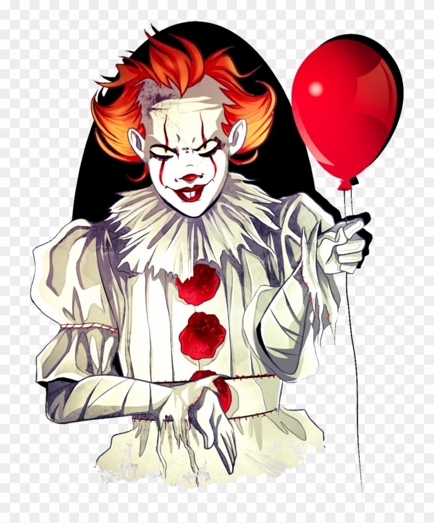 Clown clipart pennywise dancing clown. Good clowns the horror
