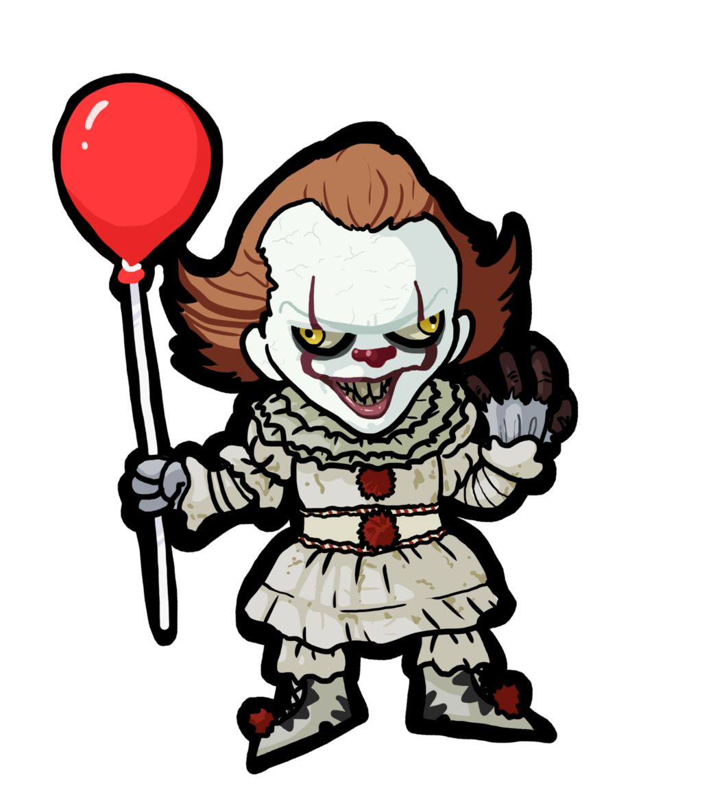 Pennywiseclown explore on deviantart. Clown clipart pennywise dancing clown