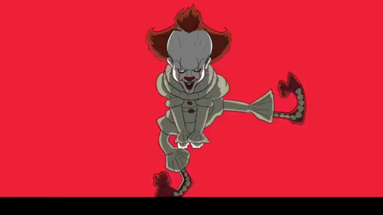 The . Clown clipart pennywise dancing clown