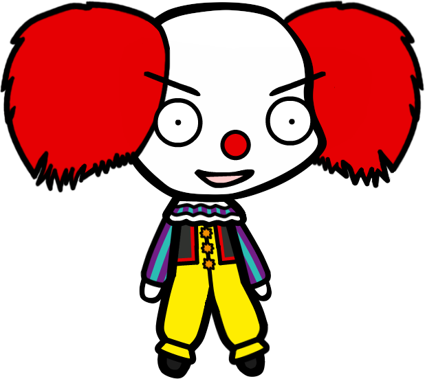 Walfas commission the x. Clown clipart pennywise