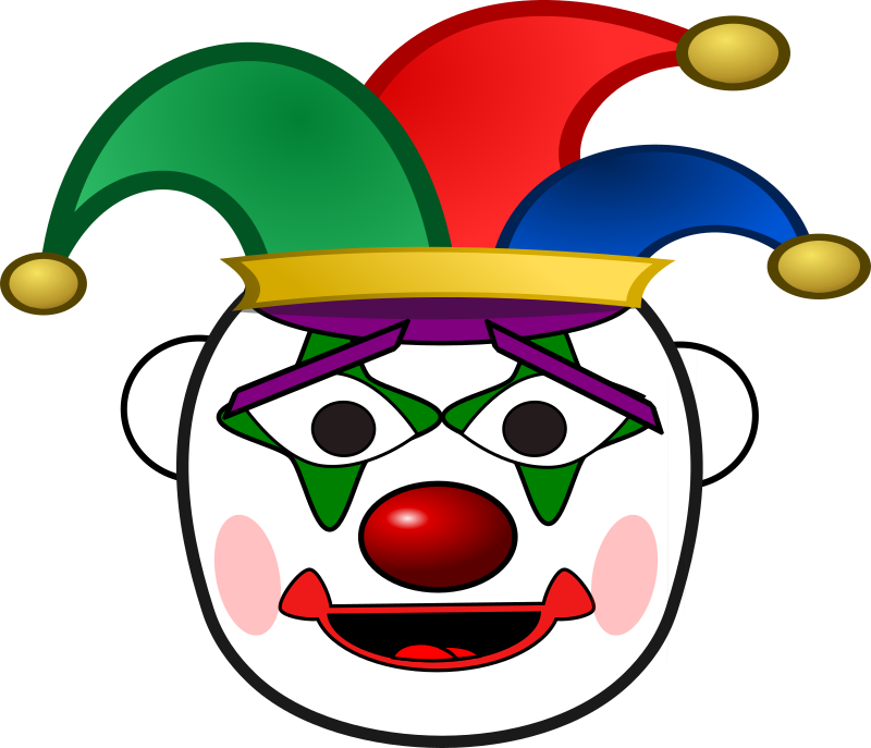 Clown clipart sad clown.  collection of face