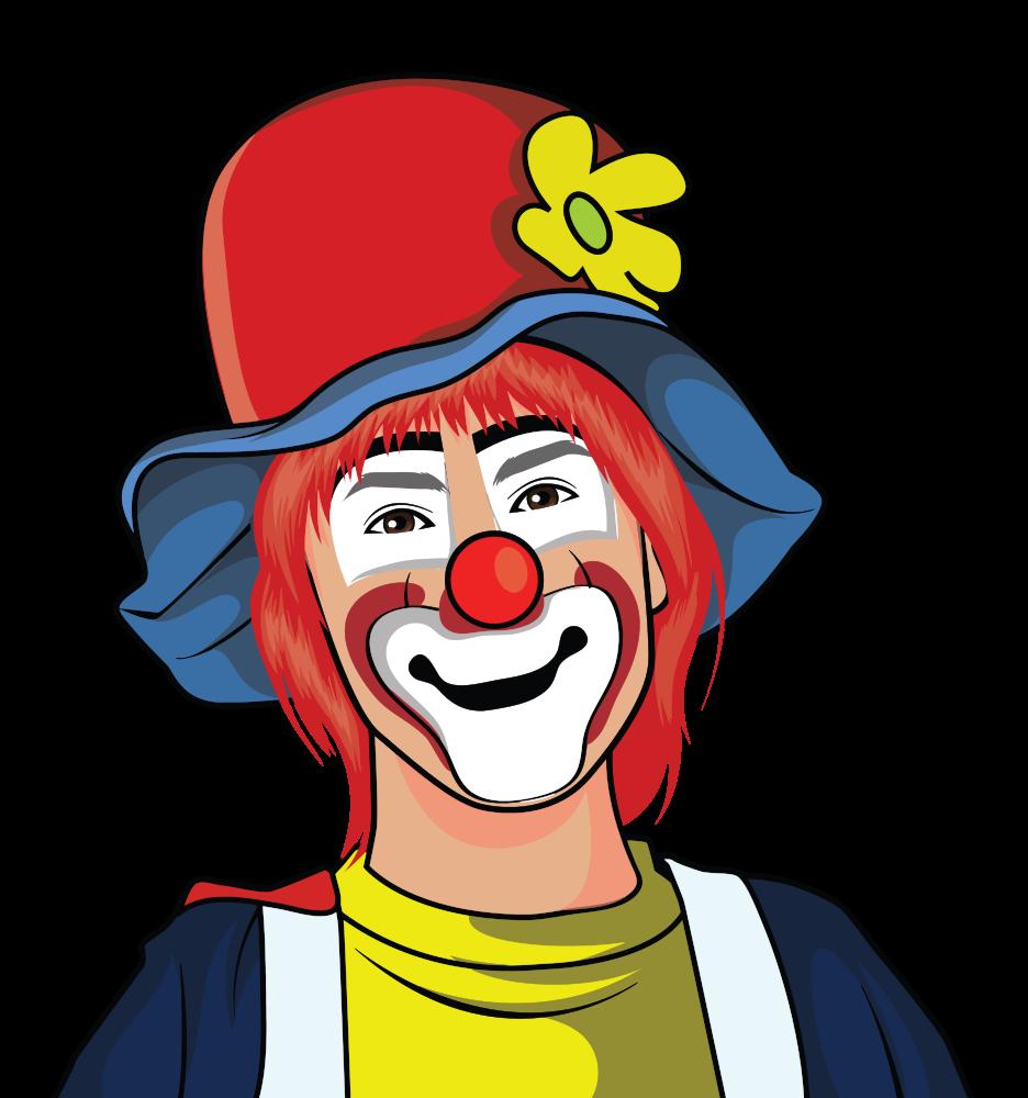 Clown clipart seller. Onlinelabels clip art illustration