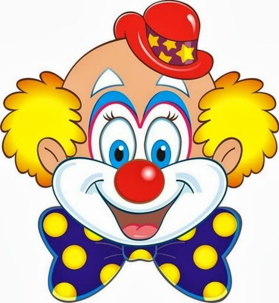 Clown clipart small. Funny free images at