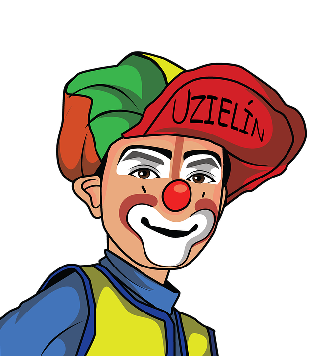 Costume clipart clown wig. Png