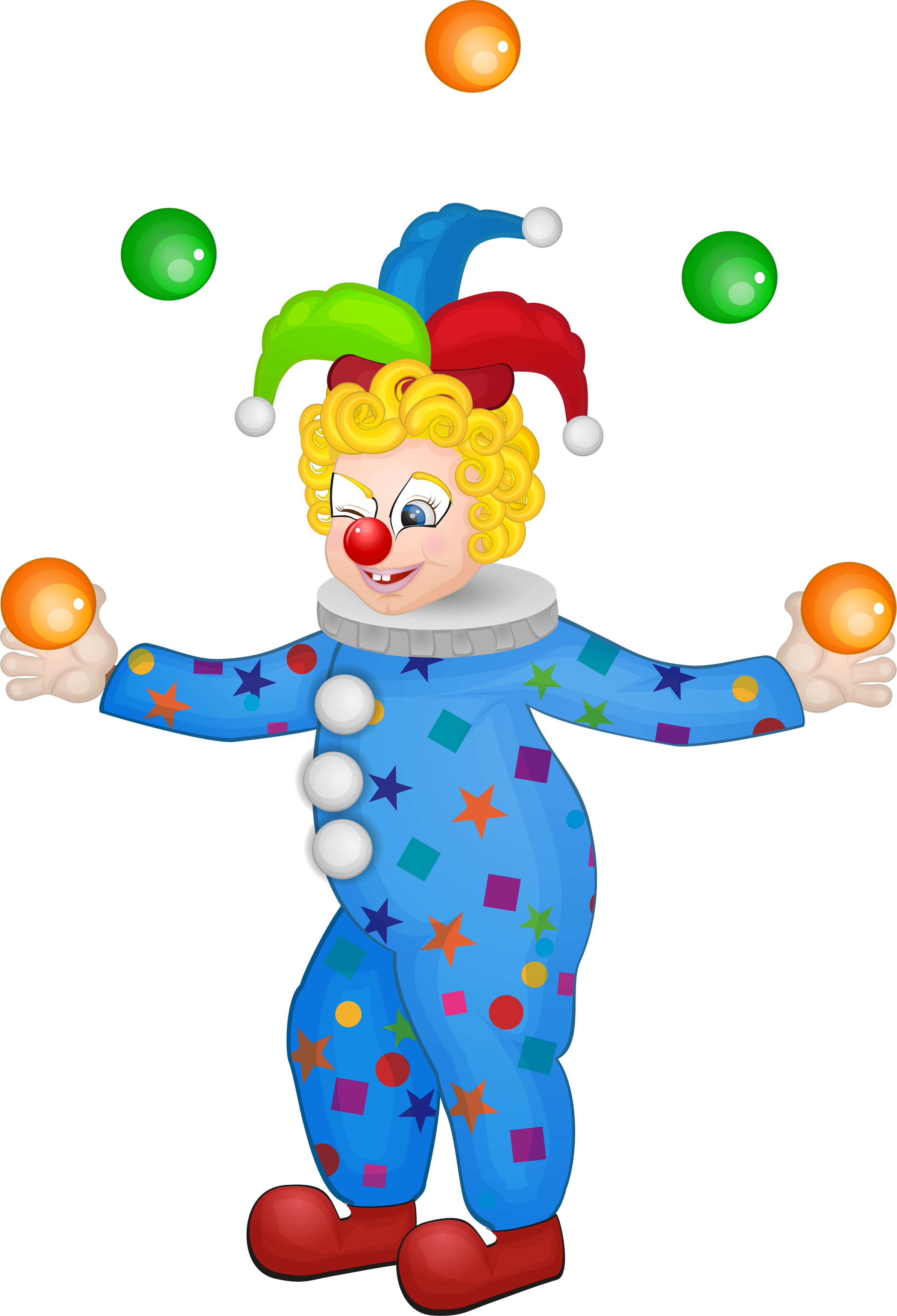 Clown clipart unicycle. Circus transprent png free