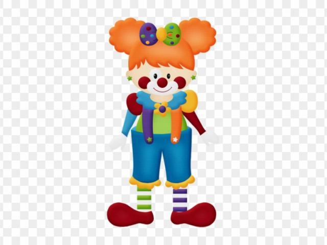 X free clip art. Clown clipart woman