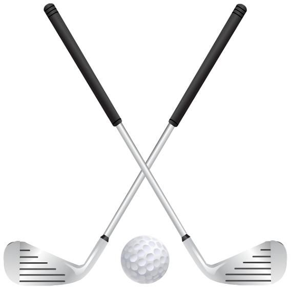 Free golf crafts clip. Club clipart ball