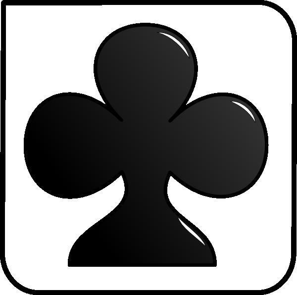 Club clipart card symbol. Clip art at clker