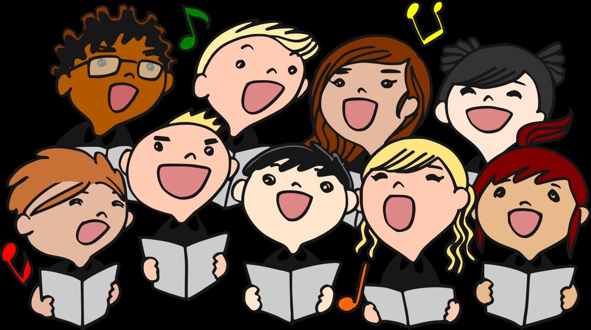 choir clipart easter