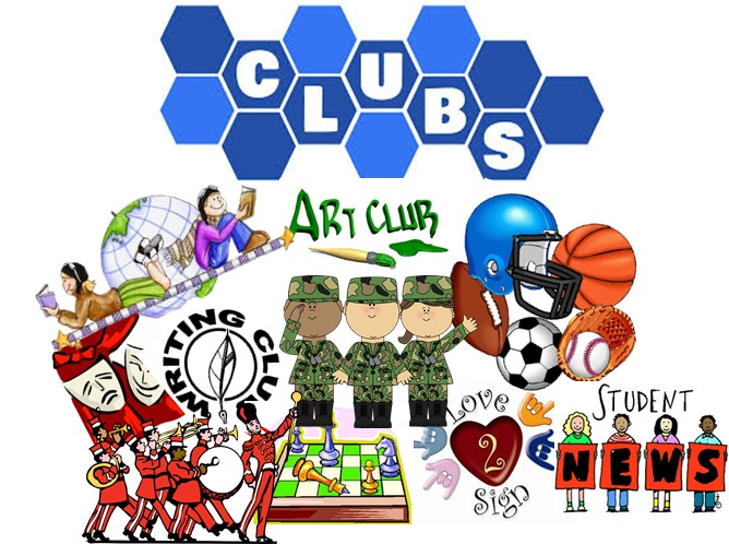 Club clipart club activity. Choosing clubs and extracurricular