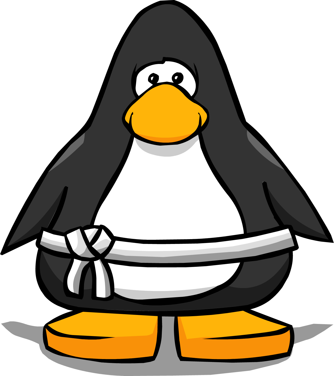 Image white belt from. Club clipart club card