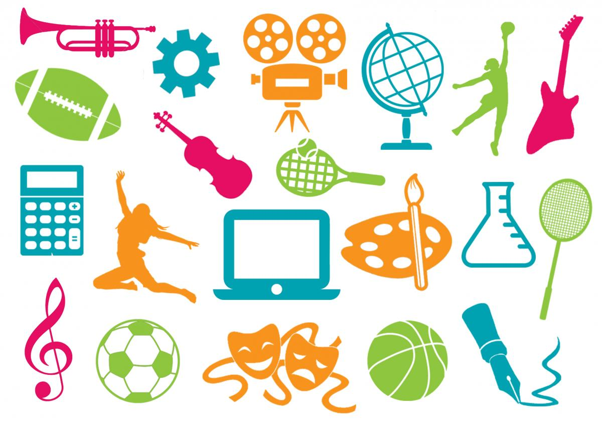 Crafts clipart co curricular activity. Importance of extra activities