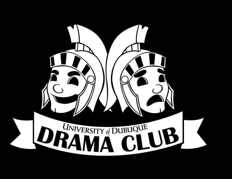 Mask clipart drama. Club logo by set