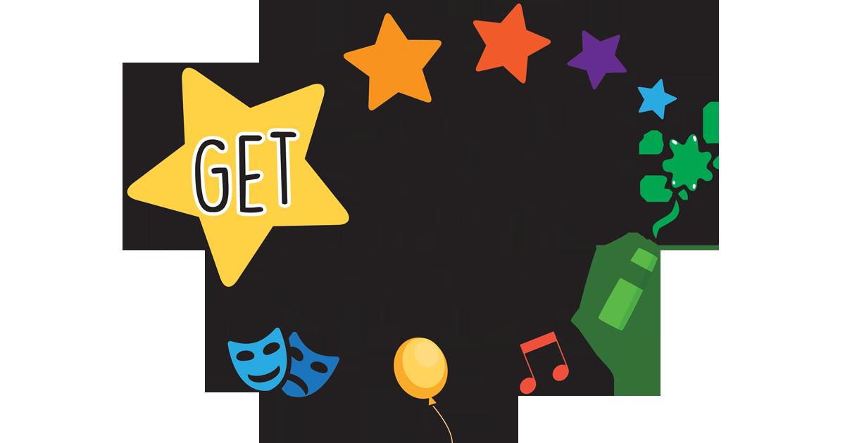 Club clipart creative drama. Let s get blogging