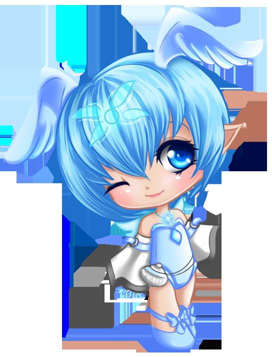 Club clipart cute. Blue angel gallery yopriceville