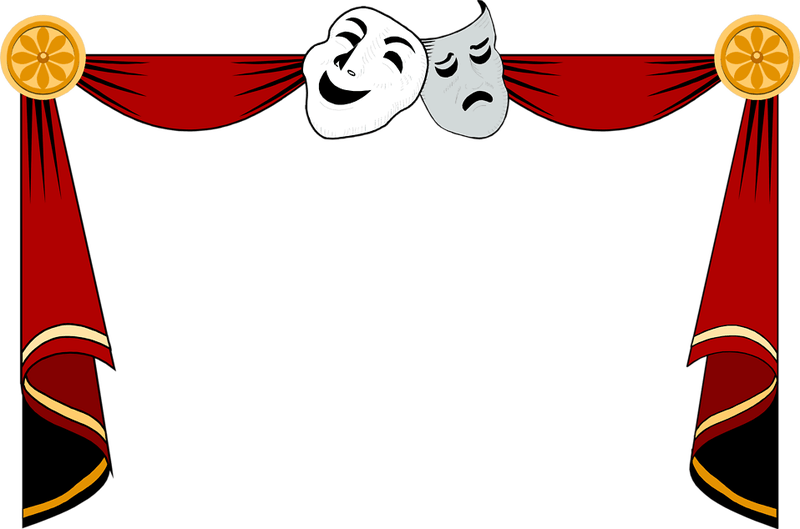 Hollywood clipart theater.  theatre huge freebie