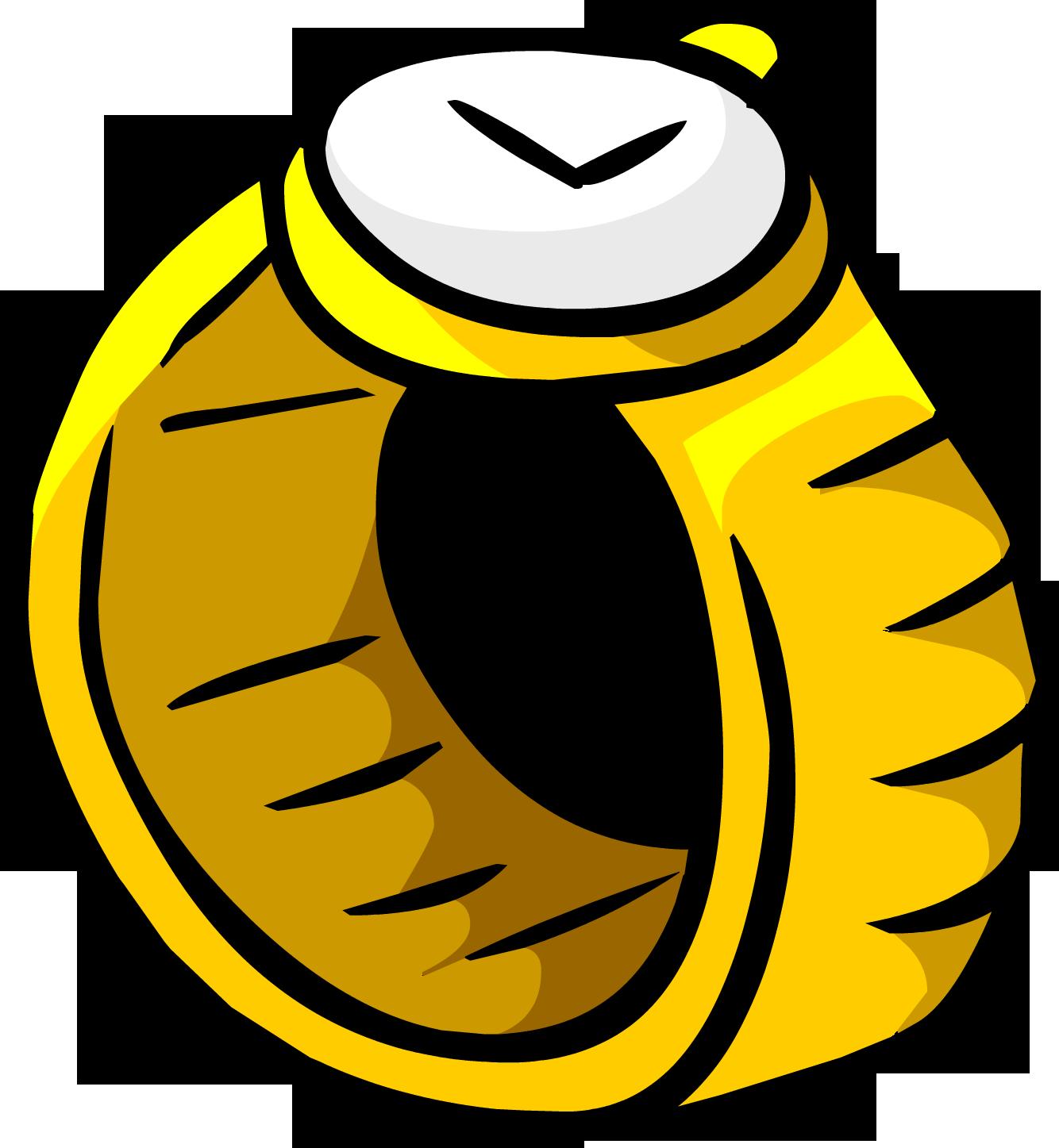 Club clipart gold club. Wristwatch penguin rewritten wiki