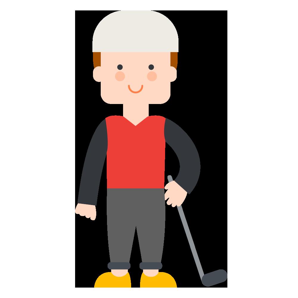 Golfing clipart boy. Golf club clip art