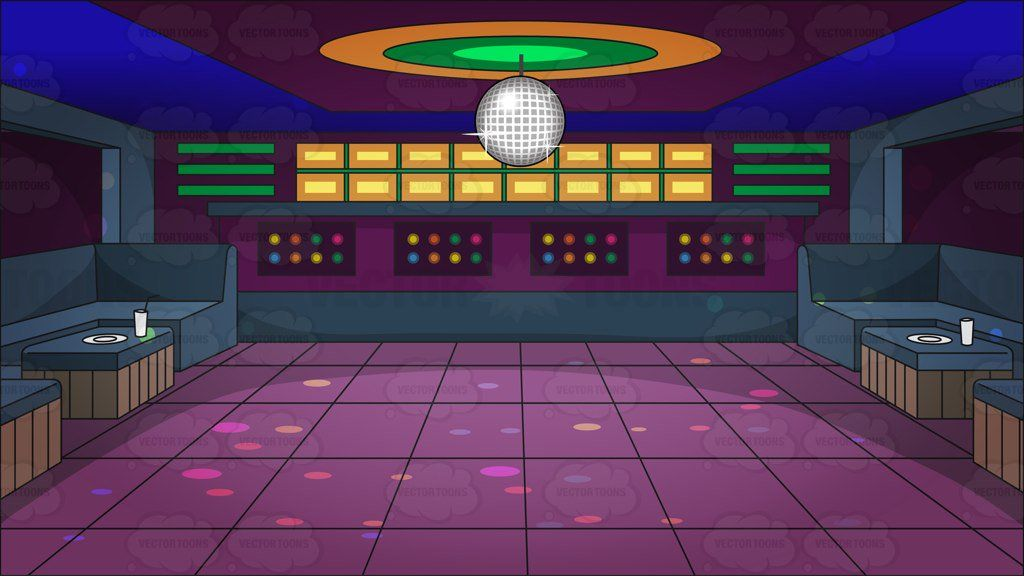 Image result for dance. Disco clipart room