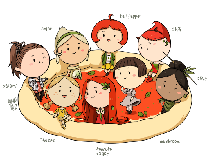 By meago on deviantart. Club clipart pizza