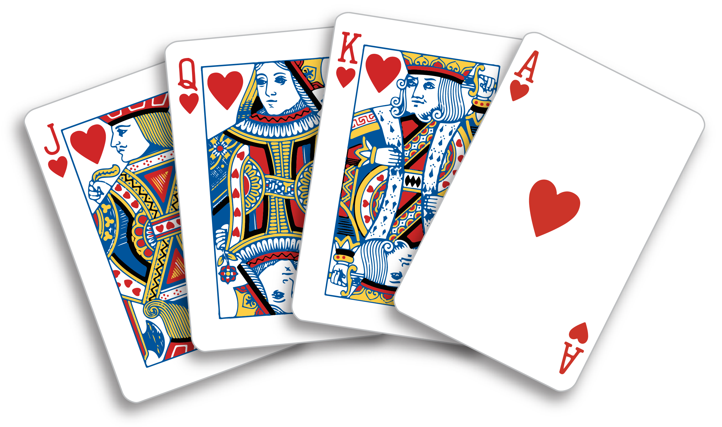 Honor cards in groups. Game clipart card