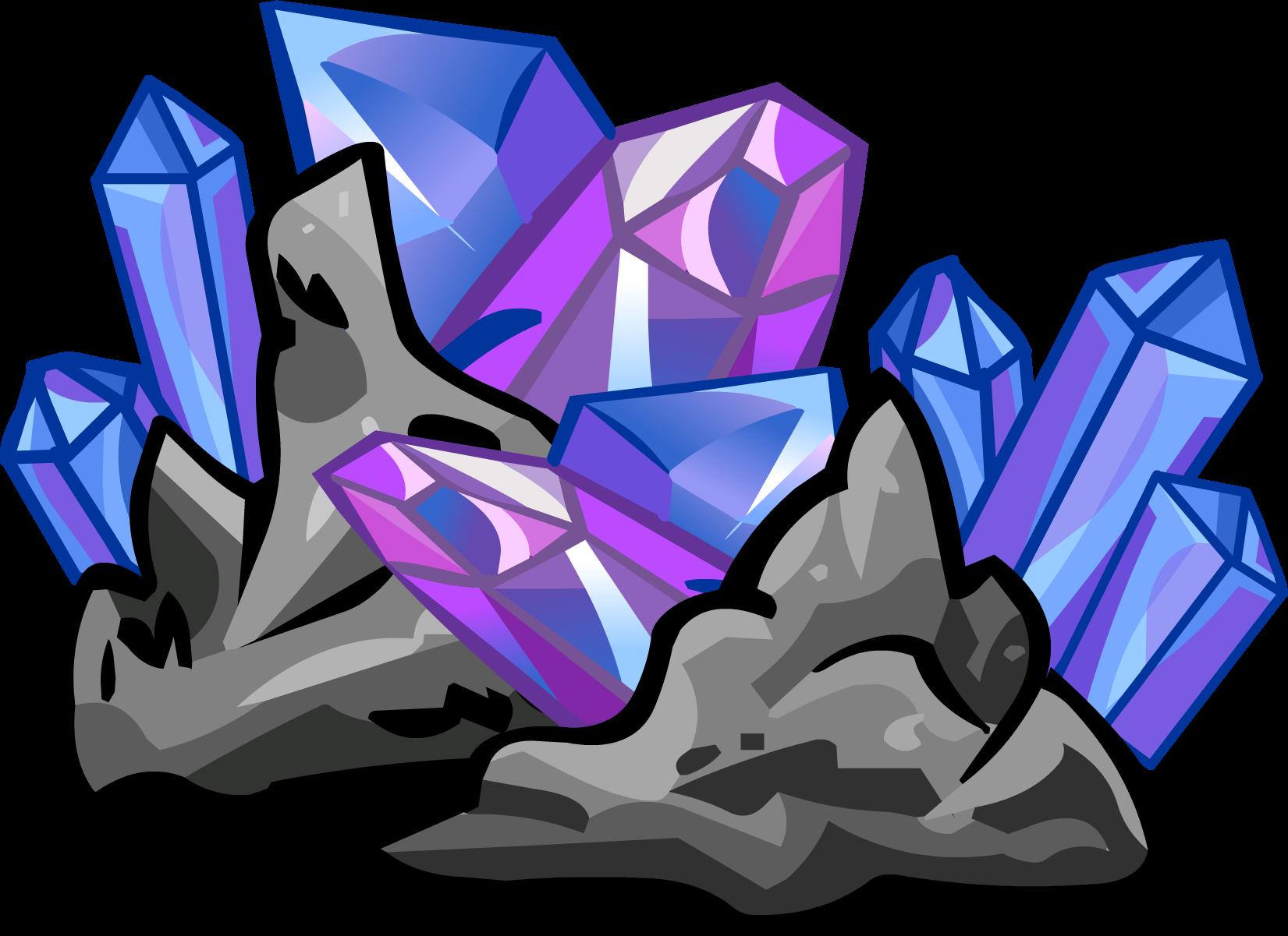Crystals penguin wiki fandom. Club clipart purple shape