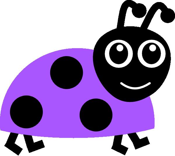 Purple m ladybug vector. Ladybugs clipart leaf clip art