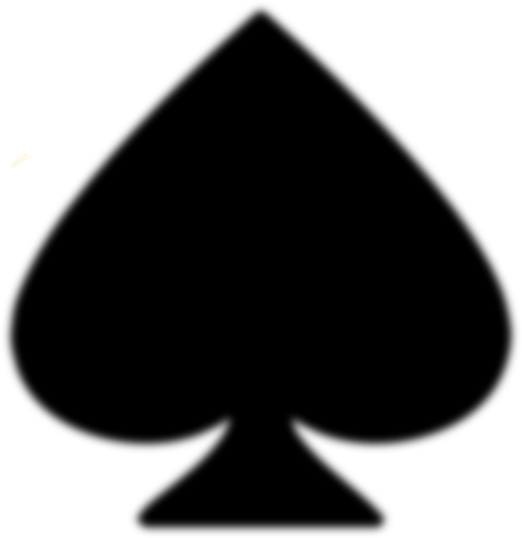 Ace of spades cool. Club clipart spade