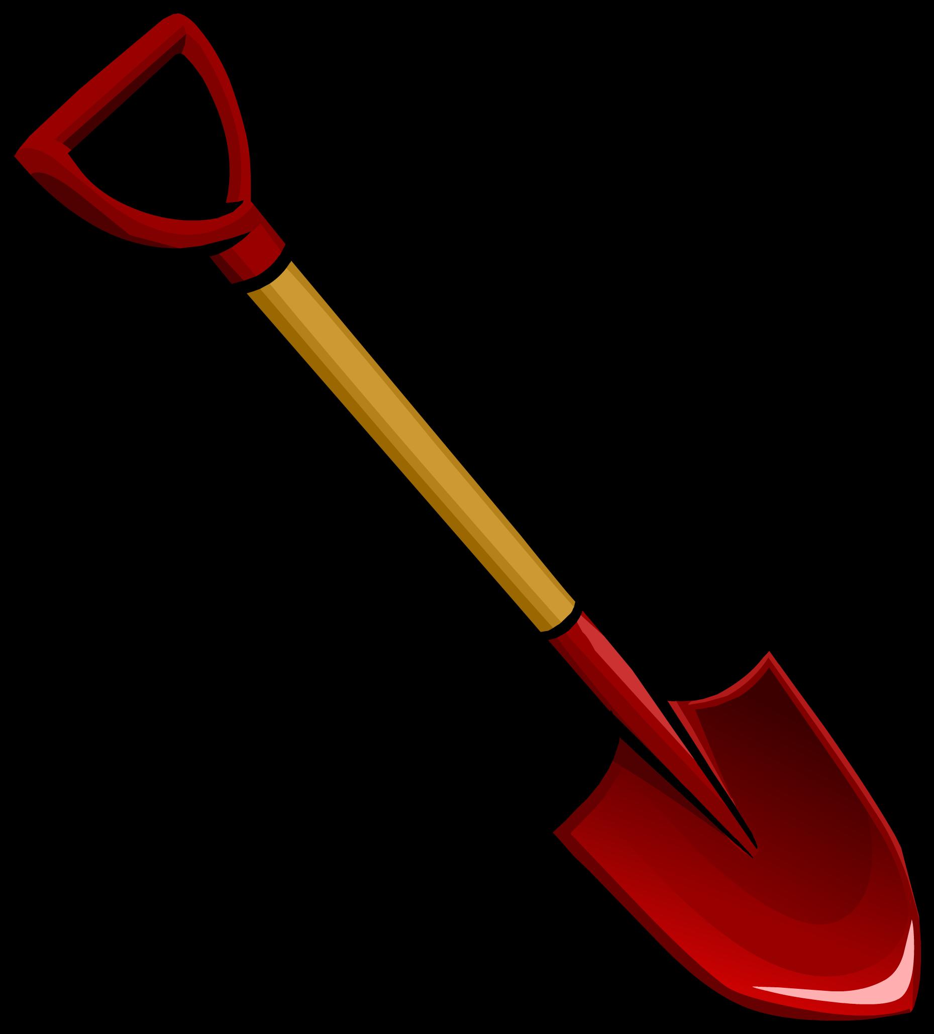 Image gardenshovel png club. Pirates clipart tool