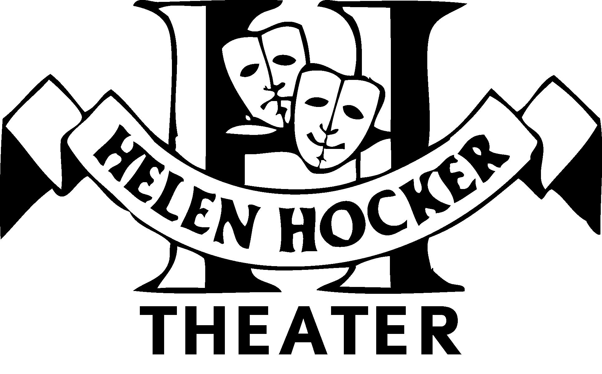 Helen hocker blk wht. Club clipart theater class