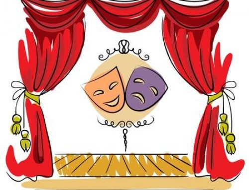 Free download clip art. Club clipart theater class