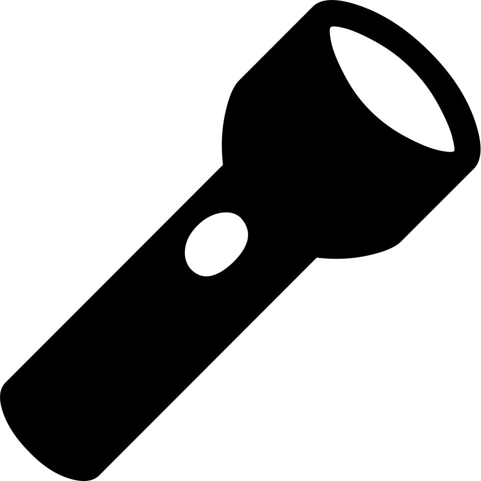 Flashlight png image free. Club clipart torch