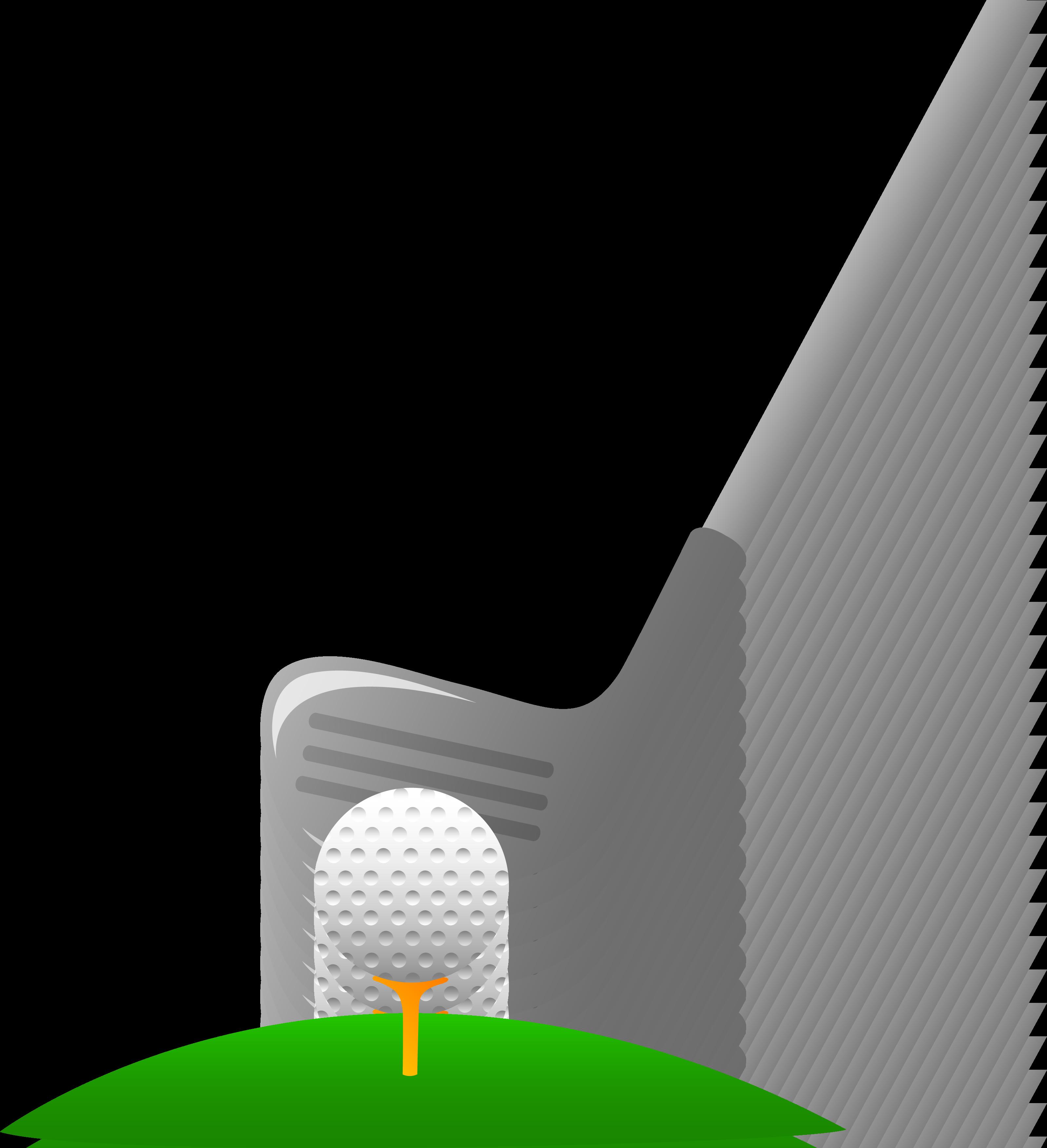 Golf ball club png. Golfer clipart transparent background