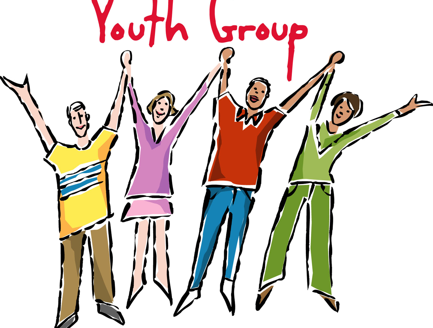 . Dinner clipart youth group