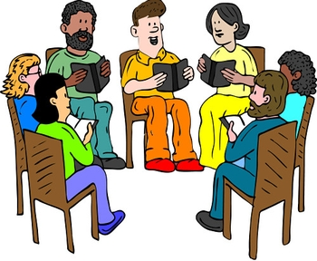 Free book group cliparts. Club clipart
