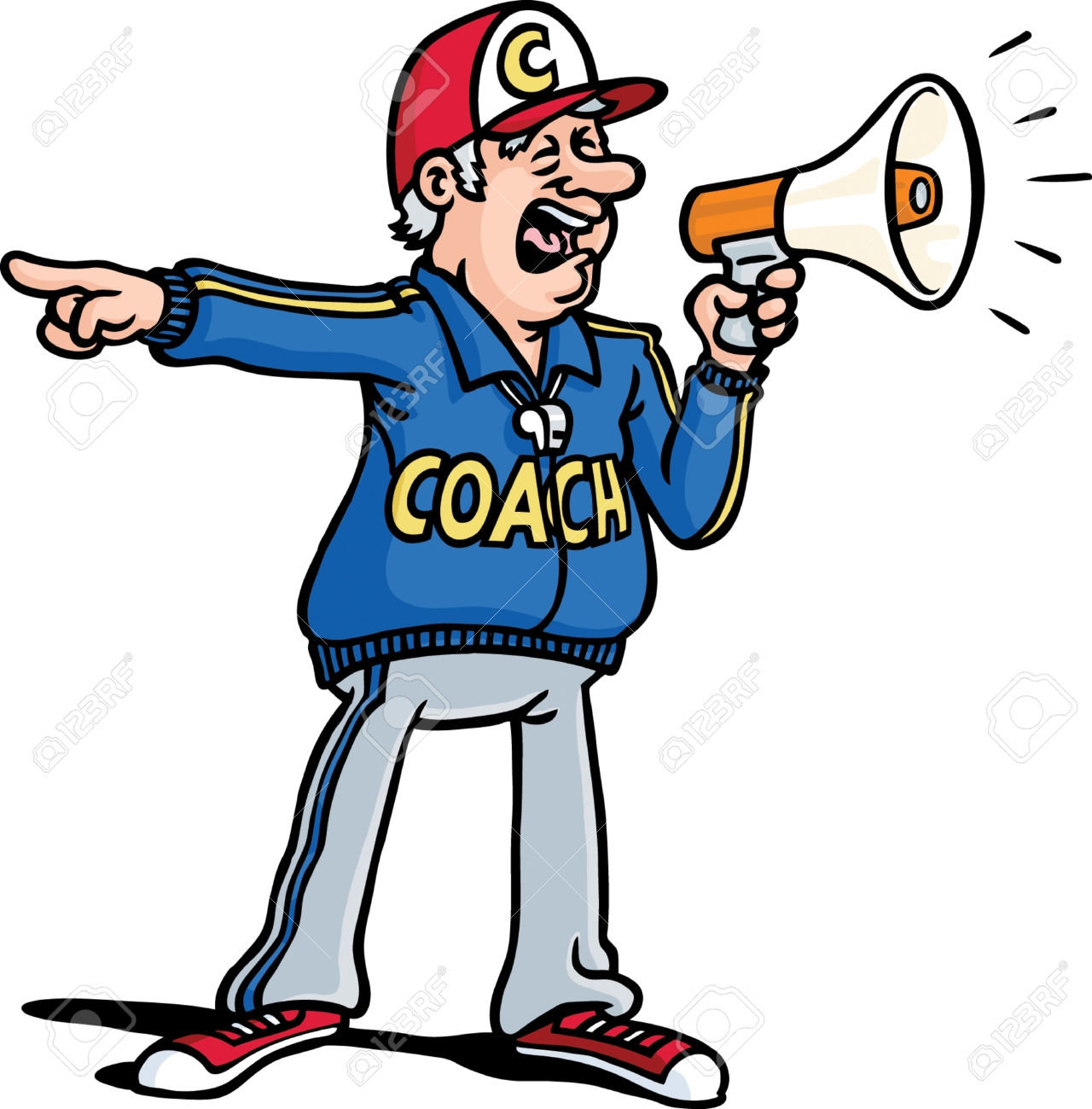 Coach clipart. Fresh gallery digital collection
