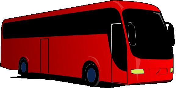 Red bus clip art. Coach clipart