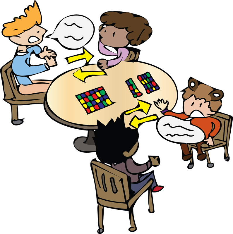 Collaboration clipart cooperative learning. The learner rally robin