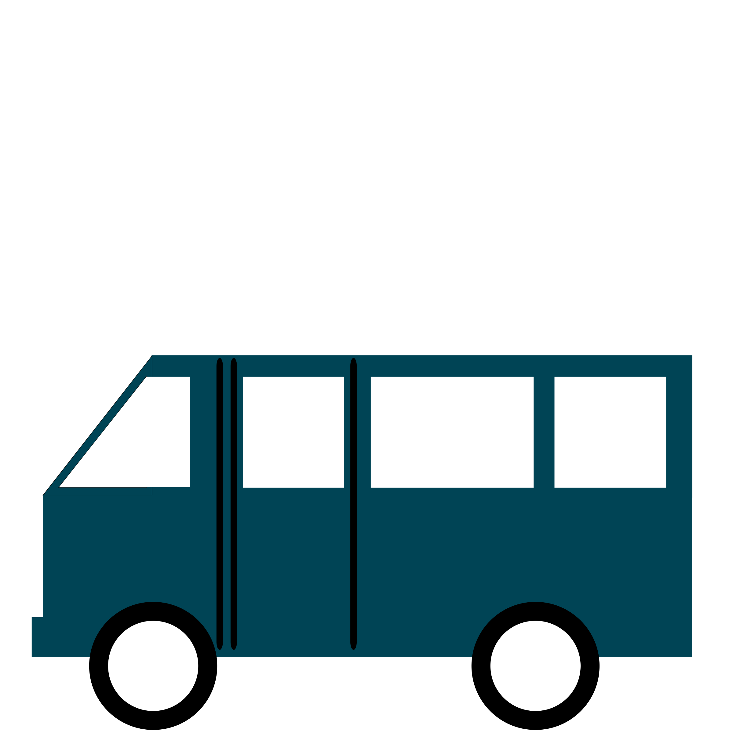 Van minibus coach with. Minivan clipart mini bus