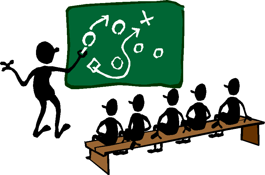 flag tackle coaches. Planner clipart strategy plan