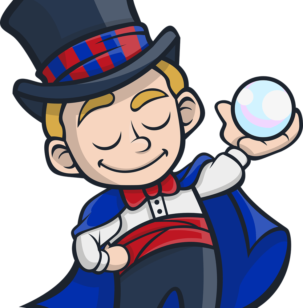 magician clipart tricky
