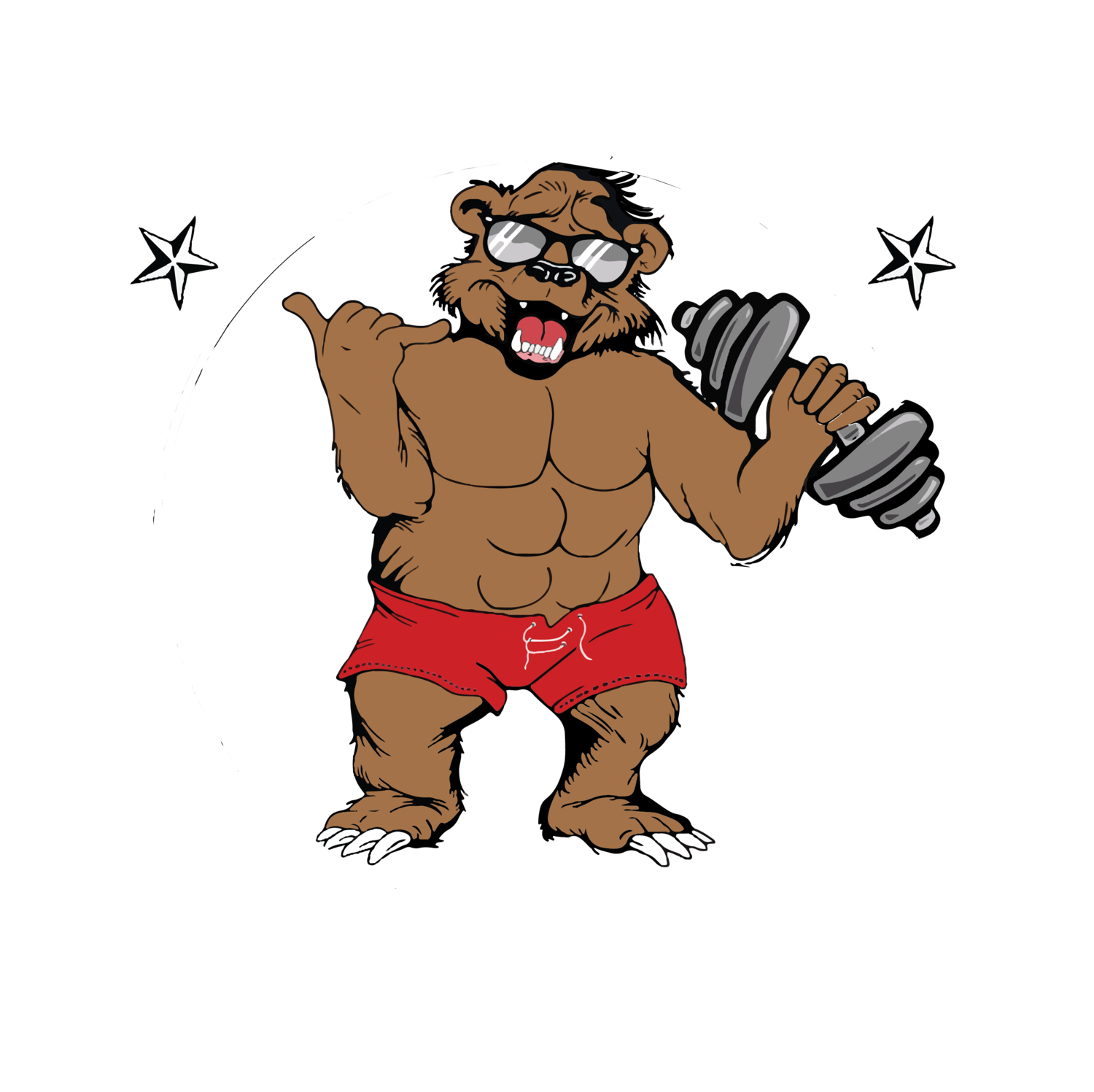Weight clipart strength and conditioning. Bearfit training systemsbearfit
