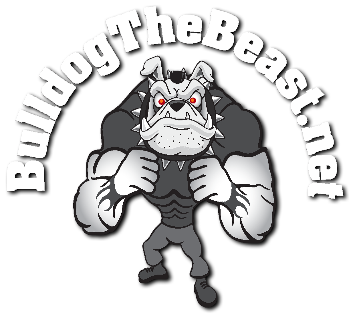 Bulldog the beast and. Weight clipart physical strength