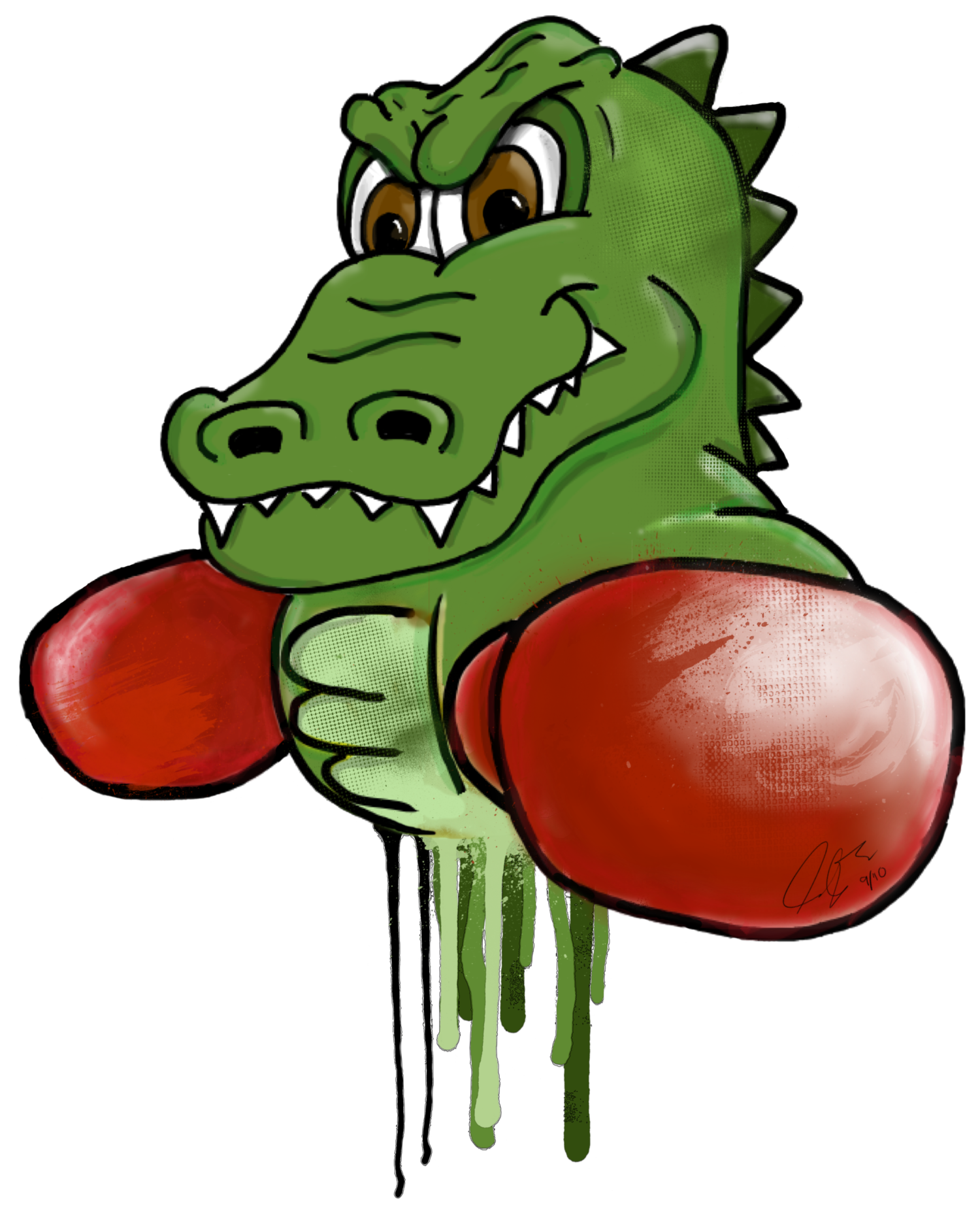 The gbox thor trainers. Gator clipart good morning
