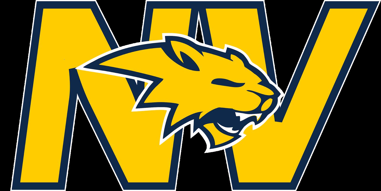 Neuqua valley news track. Wildcat clipart yellow