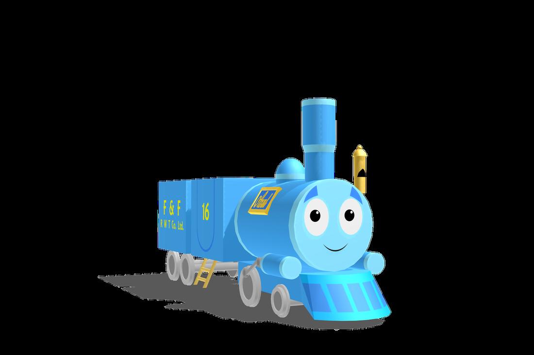 Engine clipart toy train engine. Azul the railways of