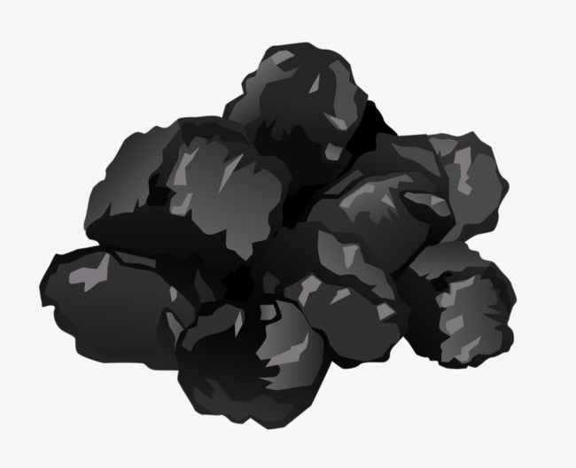 Coal clipart. Black mineral png image