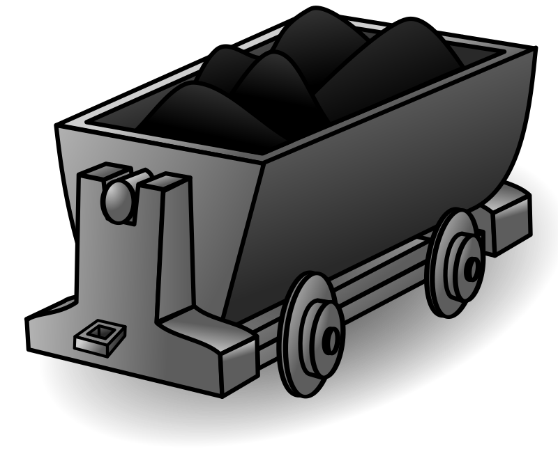 Lorry medium image png. Coal clipart animated