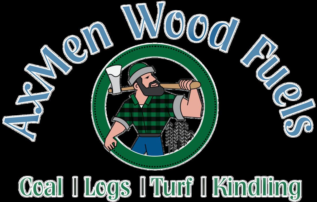 Axmen wood fuels large. Coal clipart bag coal
